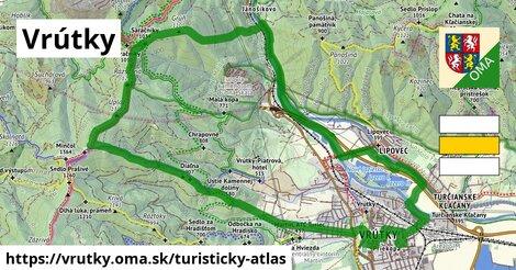 ikona Turistická mapa turisticky-atlas  vrutky