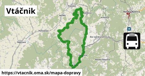 ikona Mapa dopravy mapa-dopravy  vtacnik