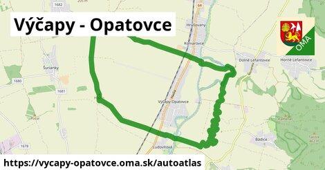 ikona Mapa autoatlas  vycapy-opatovce