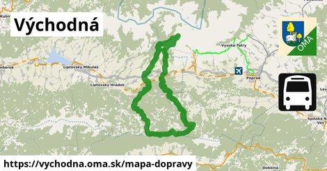 ikona Mapa dopravy mapa-dopravy  vychodna