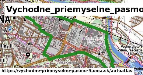 ikona Mapa autoatlas  vychodne-priemyselne-pasmo-9