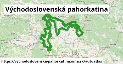 ikona Mapa autoatlas  vychodoslovenska-pahorkatina