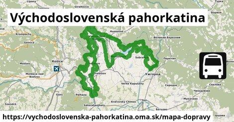 ikona Mapa dopravy mapa-dopravy  vychodoslovenska-pahorkatina