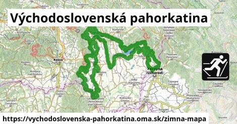 ikona Zimná mapa zimna-mapa  vychodoslovenska-pahorkatina