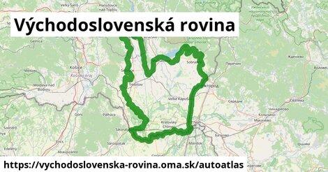 ikona Mapa autoatlas  vychodoslovenska-rovina