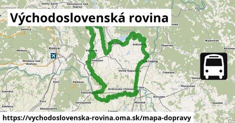 ikona Mapa dopravy mapa-dopravy  vychodoslovenska-rovina