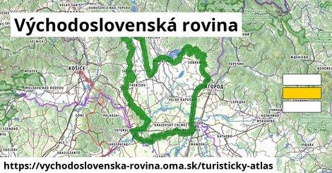 ikona Turistická mapa turisticky-atlas  vychodoslovenska-rovina