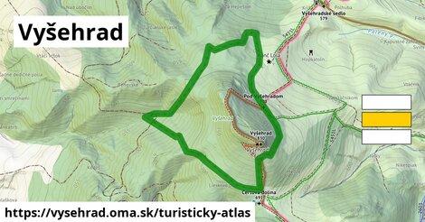ikona Turistická mapa turisticky-atlas  vysehrad