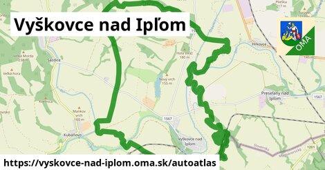 ikona Mapa autoatlas  vyskovce-nad-iplom