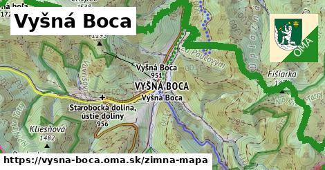 ikona Zimná mapa zimna-mapa  vysna-boca