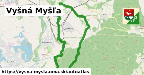 ikona Mapa autoatlas  vysna-mysla