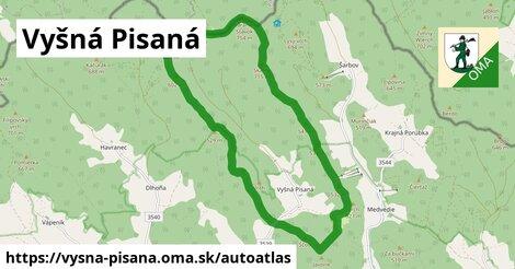 ikona Mapa autoatlas  vysna-pisana