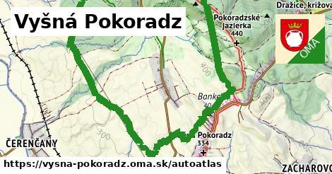 ikona Mapa autoatlas  vysna-pokoradz