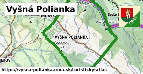 ikona Turistická mapa turisticky-atlas  vysna-polianka