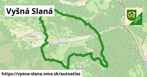 ikona Mapa autoatlas  vysna-slana