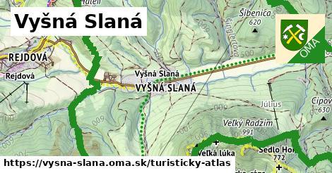 ikona Turistická mapa turisticky-atlas  vysna-slana