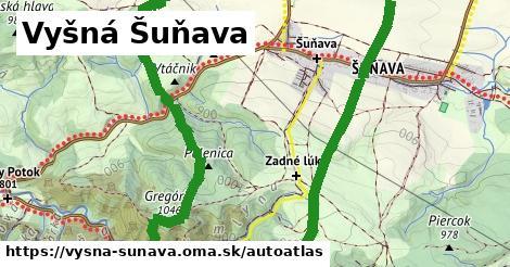 ikona Mapa autoatlas  vysna-sunava