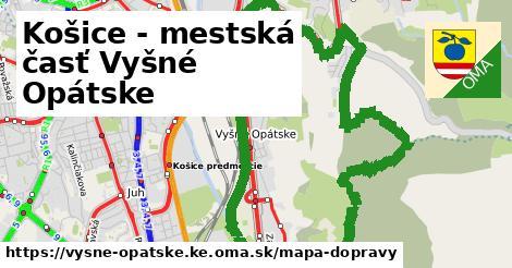 ikona Mapa dopravy mapa-dopravy  vysne-opatske.ke