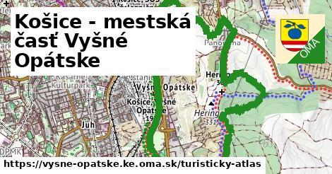 ikona Turistická mapa turisticky-atlas  vysne-opatske.ke