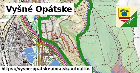 ikona Mapa autoatlas  vysne-opatske