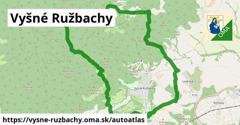 ikona Mapa autoatlas  vysne-ruzbachy