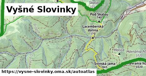 ikona Mapa autoatlas  vysne-slovinky