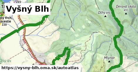 ikona Mapa autoatlas  vysny-blh
