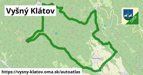 ikona Mapa autoatlas  vysny-klatov