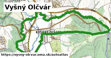 ikona Mapa autoatlas  vysny-olcvar