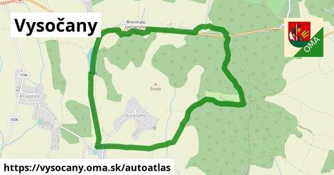 ikona Mapa autoatlas  vysocany