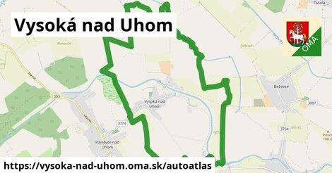 ikona Mapa autoatlas  vysoka-nad-uhom