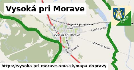 ikona Mapa dopravy mapa-dopravy  vysoka-pri-morave