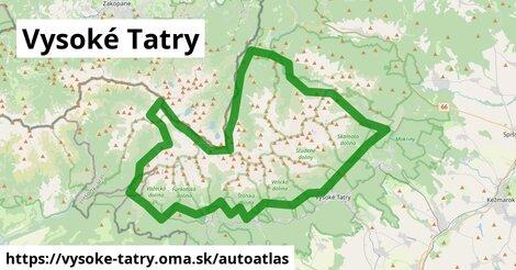 ikona Mapa autoatlas  vysoke-tatry