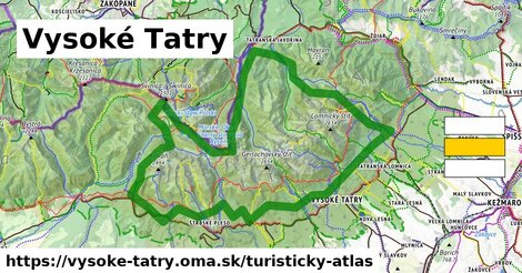 ikona Turistická mapa turisticky-atlas  vysoke-tatry