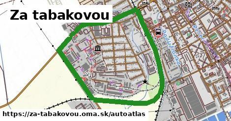 ikona Mapa autoatlas  za-tabakovou
