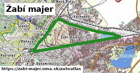 ikona Mapa autoatlas  zabi-majer