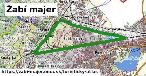 ikona Žabí majer: 0m trás turisticky-atlas v zabi-majer