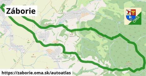 ikona Mapa autoatlas  zaborie