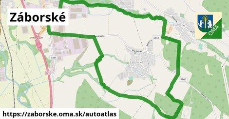 ikona Mapa autoatlas  zaborske