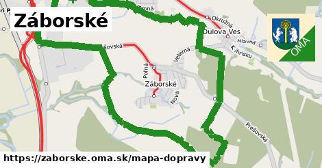 ikona Mapa dopravy mapa-dopravy  zaborske