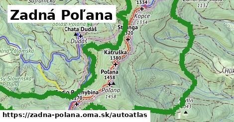 ikona Mapa autoatlas  zadna-polana