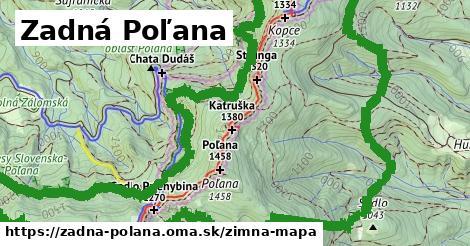 ikona Zimná mapa zimna-mapa  zadna-polana