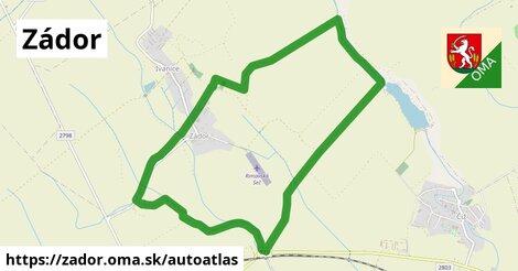 ikona Mapa autoatlas  zador