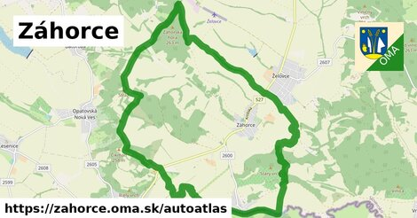 ikona Mapa autoatlas  zahorce