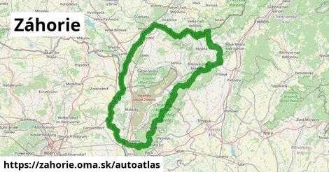ikona Mapa autoatlas  zahorie