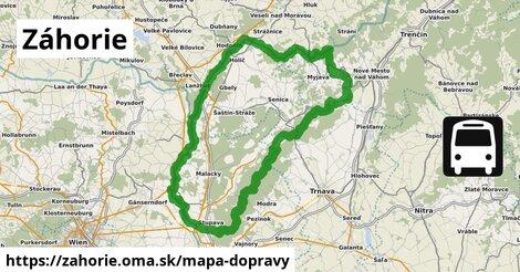 ikona Mapa dopravy mapa-dopravy  zahorie