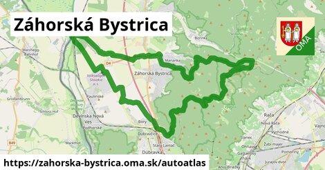 ikona Mapa autoatlas  zahorska-bystrica