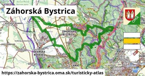 ikona Turistická mapa turisticky-atlas  zahorska-bystrica
