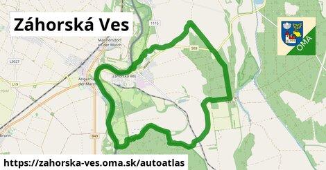 ikona Mapa autoatlas  zahorska-ves
