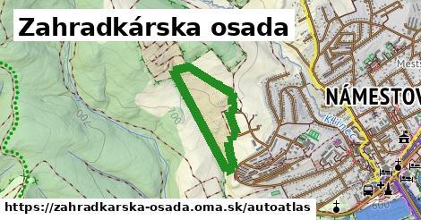 ikona Mapa autoatlas  zahradkarska-osada